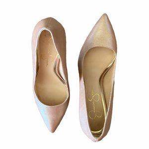 Jessica Simpson Rose Gold Pumps 7.5